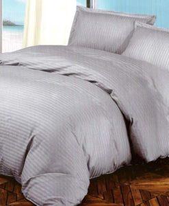 Silver Bed Sheet Set