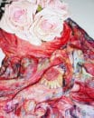 Vibrant-Red-Florals-Scarf